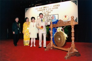 YB Dato' Dr Chua Jui Meng was invited to launch the 3rd Asian Congress of dietetics in Shangri-La Hotel, Kuala Lumpur.